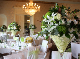 wedding decorations and centerpieces