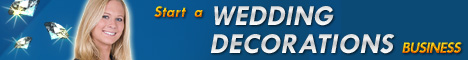 wedding decorations business banner 468x60