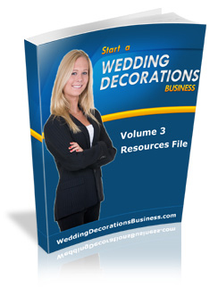 wedding decoration resources
